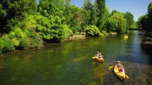 Cantal canoes, deep france