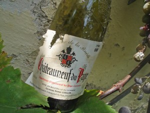 Chateauneuf- Bottle-http://bicyclegourmet.com